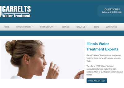 Garrelts Water Treatment